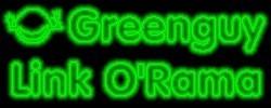Greenguy Link O' Rama logo